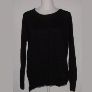 Madewell Black Rowhouse Sweater size M